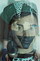 Devi Download, Wear Your Best Face (pop archaeologist) Tags: portrait abstract film face fashion vertical canon triangle kodak body doubleexposure makeup style multipleexposure facepaint queer 28105 maximalism gold200 maximalist eoselan7