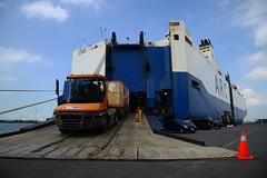 Honor (DST_1865) (larry_antwerp) Tags: 9126297 terberg cuypers honor arc roro pctc antwerp antwerpen       port        belgium belgi          schip ship vessel        euroports