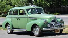 TAXI (jmaxtours) Tags: green car buick taxi 1940 niagaraonthelake notl buickeight niagaraonthelakeontario