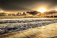 Early Morning - Tartaruga Beach - Natal-RN. (rqserra) Tags: morning brazil sun sol praia brasil clouds strand landscape dawn golden agua waves alba playa paisagem dourado amanecer aurora nuvens plage amanhecer reefs ondas aube alvorecer morgendämmerung arrecifes dageraad daggry gryning paccbet rqserra