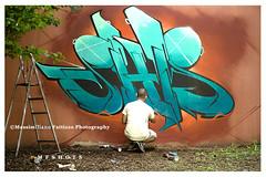 221 (Massimiliano Fattizzo p.) Tags: street blackandwhite italy streetart milan colors graffiti colours milano colori