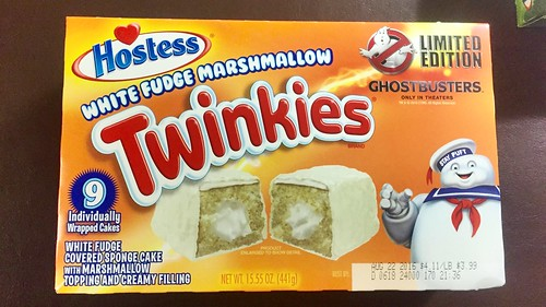 2016 HOSTESS PACKAGING - Ghostbusters movie promo
