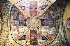 SIENA -  Palazzo Chigi Saracini - Courtyard  DSC_0384 (Chris Maroulakis) Tags: chris nikon courtyard tuscany vault siena palazzo affreschi volta chigi frescoes 2016 saracini d7000 maroulakis