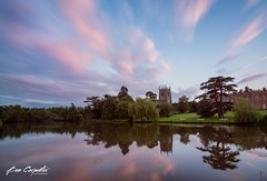 Staunton Harold Hall (ben carpenter photography) Tags: trees sky lake colour reflection tree church water clouds landscape hall nikon long exposure leicestershire leicester tokina buildin ashby d7100 tokinaaf1116mmf28