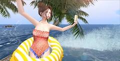 Splash ! (Anabigail) Tags: beusy hairology mbirdie vco kirin summerfest16 event sl blogger