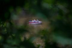 Boat on Mississippi River (Igor Sorokin) Tags: us illinois galena travel boat bokeh foliage river water dslr nikon d5300 nikkor 18300 telephoto zoom