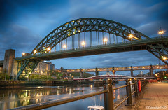 The Tyne Bridge (Geordie1970) Tags: nikon tynebridge northeast hdr swingbridge newcastleupontyne quayside highlevelbridge thetoon nikon1685 nikond300s geordie1970
