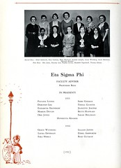 Eta Sigma Phi (Hunter College Archives) Tags: students photography yearbook fraternity hunter awards honors 1933 huntercollege studentorganizations organizations fraternities etasigmaphi wistarion thewistarion