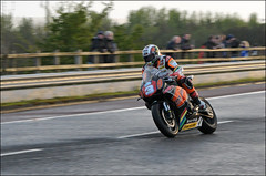 NW200 2013 John McGuinness (Eggy Boil) Tags: road wet evening roundabout link thursday damp superstock 2013 nw200 ballysally