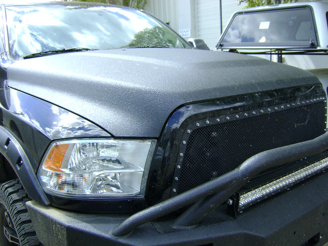 truck lights bumper dodge grille ram linex rigid truckaccessories