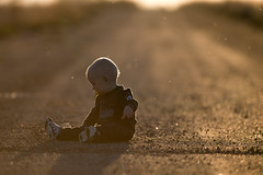 Zachary during a stop on a road trip today (Cameron Braaten) Tags: road boy sunset baby zach nikon child son roadtrip 300mm zachary 28 backlit saskatchewan sask d800 300mm28vr