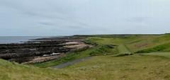 P1010663 - Kingsbarns #12 panorama from tee r (tewiespix) Tags: st scotland andrews fife golfcourse kingsbarns