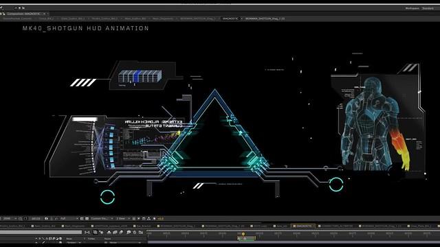 超炫的【鋼鐵人3】抬頭顯示介面設計展示影片