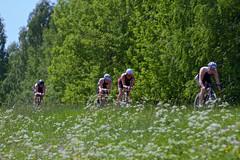 Vantaa Triathlon - Cycling Stage (K3ntFIN) Tags: road copyright sports bicycle speed canon fun eos cycling outdoor competition 7d tough triathlon challenge vantaa pyöräily urheilu kuusijärvi