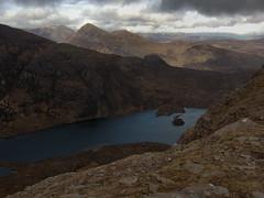 Lochan Tuath, Cul Beag beyond (Adrian Fagg) Tags: scotland highlands benmorecoigach