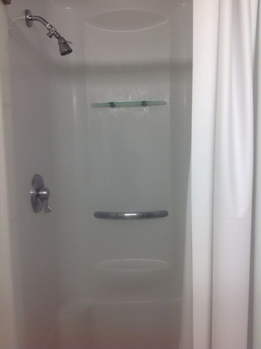 normal shower