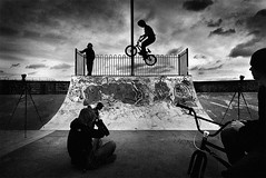 The Skate park (D.J. De La Vega) Tags: park leica bike bmx photographer skate trick x1
