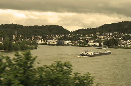 From Neustadt an der Weinstrasse to Amsterdam, along the river Rhine.