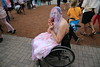 Zombie amputee #2 (Eyesplash - Summer was a blast, for 6 million view) Tags: girl bride zombie wheelchair brains amputee