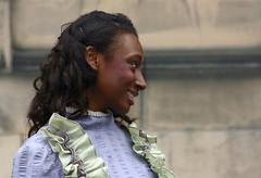 Edinburgh Fringe 2013: (chairmanblueslovakia) Tags: street city school black girl smile festival scotland costume high edinburgh theatre capital royal scottish fringe american nervous period mile 2013