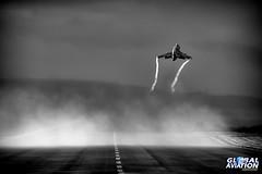 RAF Lossiemouth Super Etendard Departure (KarlADrage) Tags: raflossiemouth frenchnavy superetendard aeronavale 17flotille