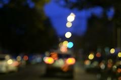 The Ride Home (MadoneRider) Tags: light motion night photography 50mm nikon bokeh singleraw