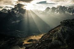 Chamonix - Brvent V (dibaer) Tags: light mountain france nature montagne landscape paysage chamonix d600 aiguillesdechamonix aiguilleverte drus nikond600 lebrvent