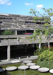 TU Darmstadt, Audimax (Heiko Haberle) Tags: architecture concrete architektur gdr brutalism beton plattenbauten nachkriegsarchitektur brutalismus