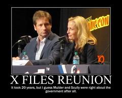 NEW YORK COMIC CON 2013 : X FILES REUNION (DarkJediKnight) Tags: poster humor fake mulder parody spoof scully xfiles motivational davidduchovny gilliananderson nycc 2013 newyorkcomiccon