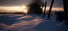 Champier_Sunrise (Rmy Rogez) Tags: levdesoleil bourgoinjallieu champier decembre2010 cymetiere