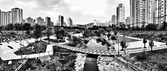 Black & White Park (EmreKanik) Tags: park blackandwhite bw panorama asia overcast korea southkorea bundang seongnam gyeonggido     uploaded:by=flickrmobile flickriosapp:filter=nofilter 2