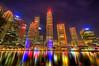 Singapore (yinyan708) Tags: travel skyline reflections landscape singapore asia nightshot hdr highdynamicrange nightskyline photomatix michaelsteighner mdsimages