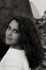 Mi morena (Carmen T. Chaguaceda) Tags: retrato lucia blancoynegro monocromo miradas mujeres