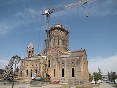 Church of the Holy Saviour (Alexanyan) Tags: church earthquake cross cathedral kirche chiesa dome armenia eglise armenian armenien armenie gyumri caucasia leninakan alexandropol rmenyorszag   kumayri