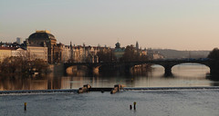 Prague from Charles Bridge (Explore #63 14/12/13) (GillWilson) Tags: