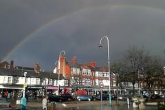 Rainbow over Lord Street (tabulator_1) Tags: rainbow southport