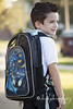 Back to School (AmysBodyDecor {Bailey Brand}) Tags: boy bailey firstday backpack batman mohawk kindergarten backtoschool fohawk amysbodydecor baileybrand