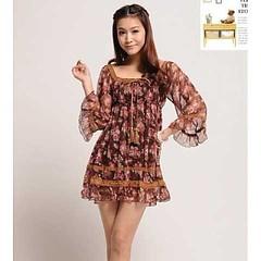 ชุดแซก แฟชั่นเกาหลี เดรสสวยผ้าชีฟองลายดอกไม้ตัวหลวม นำเข้า ฟรีไซส์ - พร้อมส่งTX010 ราคา850บาท  รหัสสินค้า : TX010  ไซส์ : อก 100 เอว 80-100 สะโพก 80-100 ยาว 75 ซม.  วัสดุ : Chiffon Blended  สี : ตามรูป   โทรสั่งของกับ พี่โน๊ต/พี่เจี๊ยบ : 083-1797221, 086-
