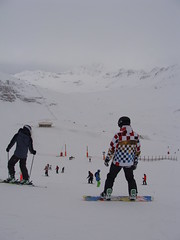 Alps: Val d'Isre (ines s.) Tags: winter white mountain snow ski france alps branco montagne alpes surf neve neige bergen alpen savoie inverno wit savoye blanc savoy montanha slope valdisre hivers rhnealpes sabia encosta descida sneuw snorboard