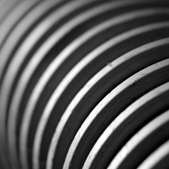 Curving Lines (@noutyboy (Instagram)) Tags: winter blackandwhite bw abstract holland macro netherlands monochrome lines speed canon eos is utrecht zwartwit nederland thenetherlands fast 100mm l 28 february f28 nieuwegein februari lijnen 550 2014 snelheid stofzuiger nout 550d stofzuigerslang canon100mmf28lismacro eos550d noutyboy