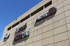 Miami Herald Sign Covered (Phillip Pessar) Tags: sign miami covered herald