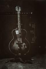 The Waiting Game. (Silent G Photography) Tags: california concert lowlight bluegrass guitar adobe nik dslr centralcoast concertphotography slo sanluisobispo d800 2014 devilmakesthree dm3 niksoftware slobrew vsco nikond800 slobrewingco markgvazdinskas silentgphotography silentgphoto