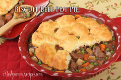 Beef Pot Pie Meal (Thinkarete) Tags: red food dinner pie crust stew healthy beef gravy vegetable meat pot potato meal carrot peas biscuits supper potpie baked nutrition redmeat