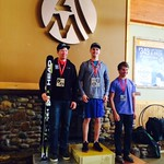 Bryan Cookson of the Vernon Ski Club won two FIS GS races in Squaw Valley, California, March 7-8, 2014