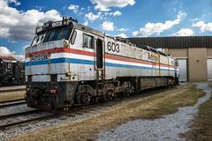 Amtrak E60MA 603 (MIDEXJET (Thank you for over 2 million views!)) Tags: amtrak e60 amtk e60ma amtk603
