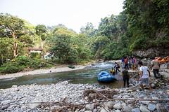 Crossing the River 0474 (Ursula in Aus (Resting - Away)) Tags: sumatra indonesia unesco bukitlawang gunungleusernationalpark earthasia