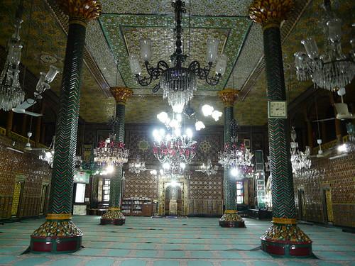 Khanqa Shah Hamdan Khanqa interior