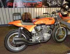 BSA Rocket 3 (iveka19) Tags: racing limousin ffmc birminghamsmallarmscompany verticaltriple x75s classicbikesexhibition