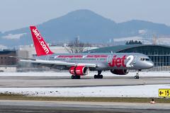 B757 Jet2 DSC_4437 (Karl Roth Photo) Tags: jet2 boeing757200 flughafensalzburg
