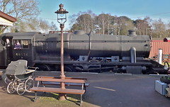Great Central Railway Quorn Leicestershire 24th January 2015 (loose_grip_99) Tags: uk railroad england stati